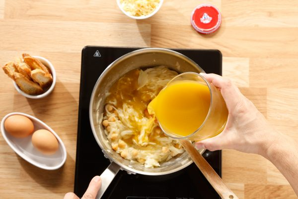 receta de sopa de cebolla caldo
