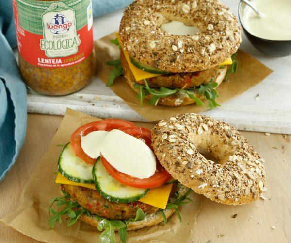 receta de hamburguesa vegetal