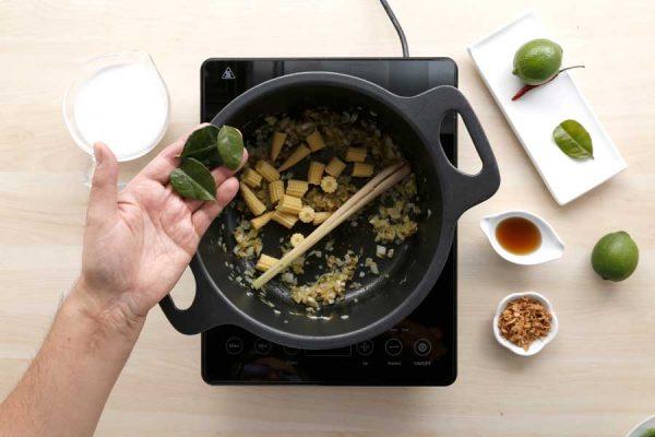 Receta de curry de alubia granja paso 4