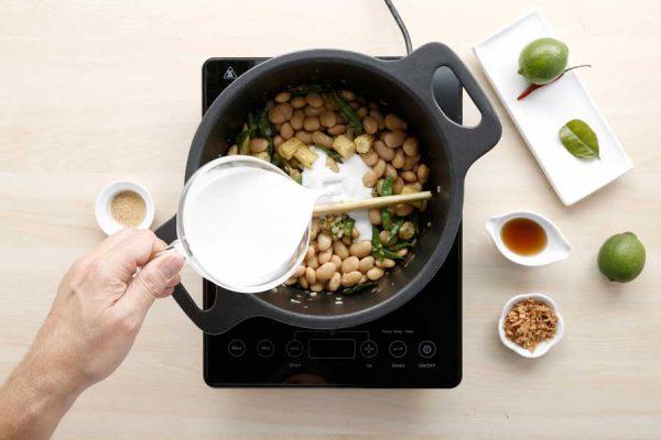 Receta de curry de alubia granja paso 5