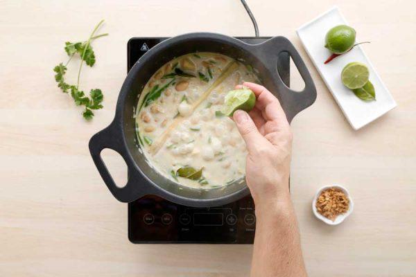 Receta de curry de alubia granja paso 6