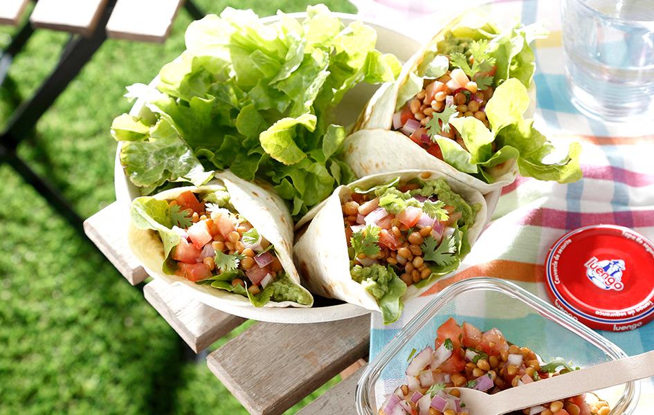 tacos rellenos de lentejas recetas saludables con legumbres