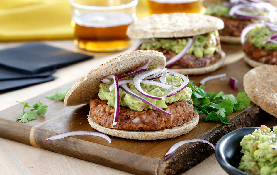 veggie burger recetas saludables con legumbres